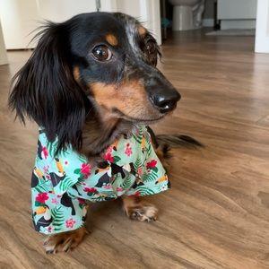 FuzzYard Hawaiian Button Down Shirt